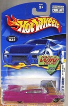 2002 Hot Wheels #32 First Edition 20/42 CUSTOM '59 CADILLAC Purple w/Gld Lace Sp - $6.35