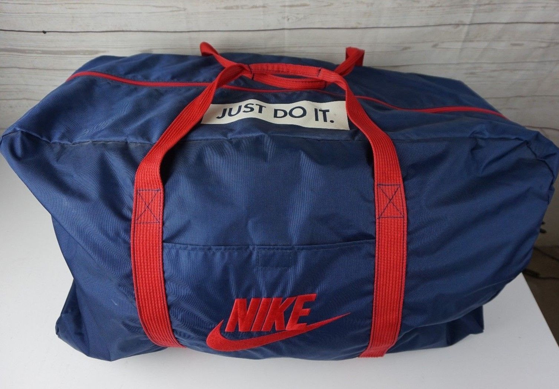 335a031587 Vintage Nike Basketball Duffel Bag Grey Gray and 50 similar items. S l1600