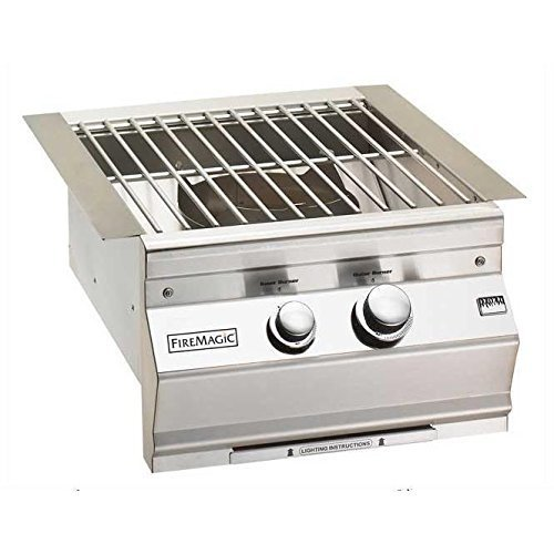 Fire Magic Aurora Built-in Propane Gas Power Burner With Stainless Steel Grid -