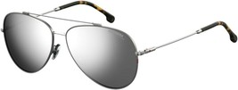 Carrera AVIATOR Sunglasses CA 183/F/S 6LB/T4 RUTHENIUM/SILVER MIRROR ASI... - $64.30