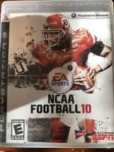 NCAA Football 10 - Playstation 3 PS3 Video Game No Manual - $6.23