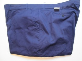 Official Workwear Men's Work Pants Sz 52X37U Blue Wrinkle Resistant #J2 - $18.99
