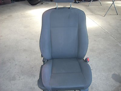 2010 DODGE CHARGER RIGHT FRONT SEAT WITH AIRBAG