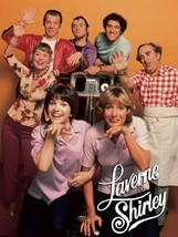 Laverne And Shirley Tv Cast Poster 24 X 36 Inch - $19.79