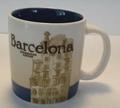 Starbucks BARCELONA Spain Coffee Espresso Cup Mug 2013 3 Oz 89 ml - $24.74
