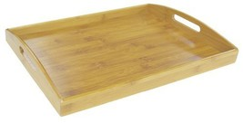 Home Basics Serving Tray, Bamboo - £15.39 GBP