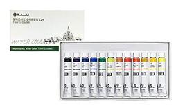 Montmar Art Watercolor Water Colour Paint Painting 12 Colors 7.5ml Tubes Set
