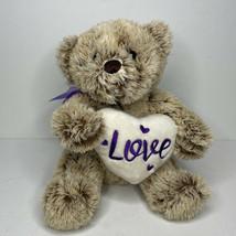 "Dan Dee Collector's Choice Brown Teddy Bear Plush Stuffed Animal 13"" Wit... - $8.86"