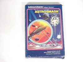 Vintage Astrosmash Intellivision Game Cartridge, No. 3605 - $6.92