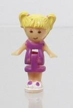 1989 Vintage Polly Pocket Doll Trinket Box - Tiny Tina Bluebird Toys - $7.50