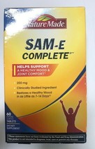 Nature Made Sam-e Complete 200 mg 60 Tablets EXP EXP 06/21+ New In Box - $21.77