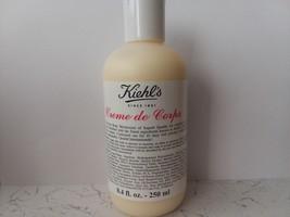 Kiehl's Creme de Corps Body Moisturizer  Creme 8.4 oz/250 ml Sealed New - $24.50