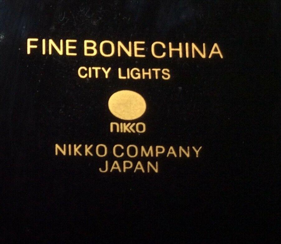 "Nikko Bone China City Lights Bread & Butter Plate 6 1/2"""