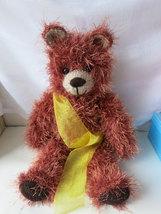 Handmade Teddy Bear Toy, stuffed animal nursery decoration,OOAK,birthday... - $50.00