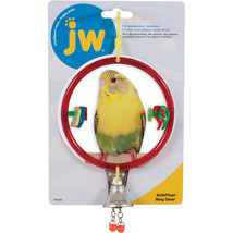 JW Multi Color Activitoys Ring Clear Bird Toy 5.25x8x5 In - $20.42 CAD