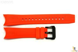 Citizen 59-S52412 23mm Orange Rubber Watch Band BJ2119-06E BN0088-03E BJ2118-09E - $94.95