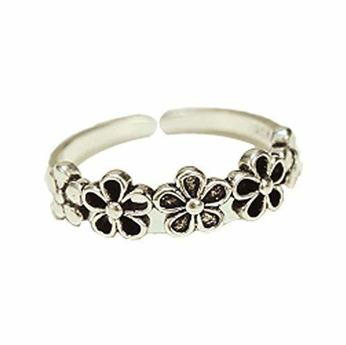 Ring Accessories Retro Fashion Ring Silver Ring Simple Tail Ring Opening