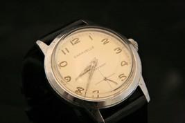 Vintage men's 1960 Caravelle by Bulova 17 jewel manual wind retro wristw... - $79.20