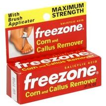 Freezone Corn and Callus Remover, Maximum Strength, 0.31 Ounce - $9.40