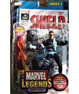 "Nick Fury - Marvel Legends Series V  6"" Figure w/Comic ToyBiz 2003 - $28.95"
