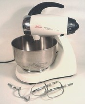NICE VINTAGE SUNBEAM MIXMASTER WITH STAINLESS S... - $41.97