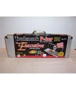 "The Deluxe ""EXECUTIVE"" Trademark 500 poker chip set & case + software & ... - $29.69"