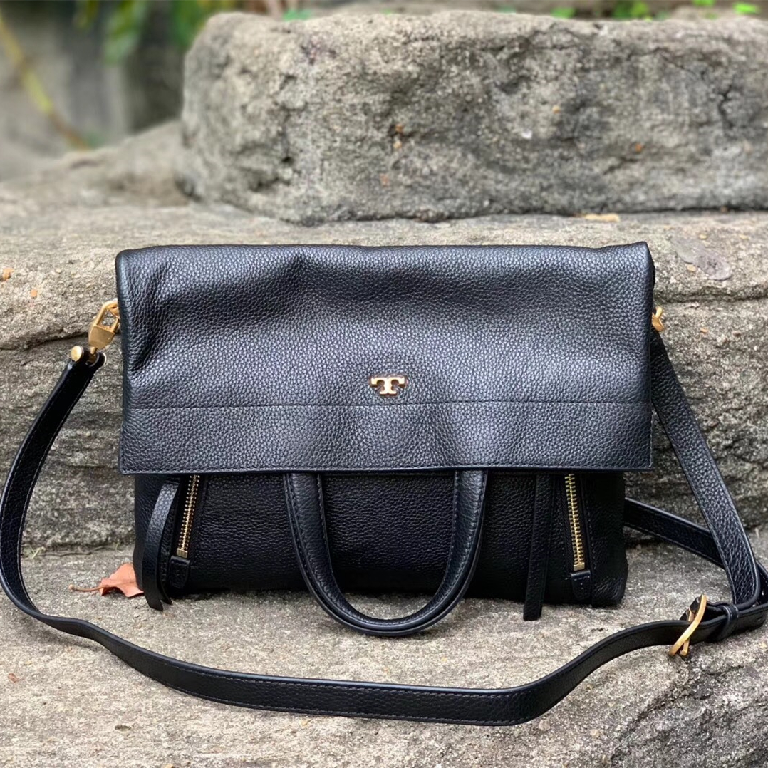 355fc6ffc Tory Burch Half-Moon Convertible Fold-Over and 50 similar items. Img 7327
