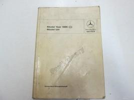 1986 Mercedes Benz Models 124 Preliminary Intro into Service Manual STAI... - $128.69
