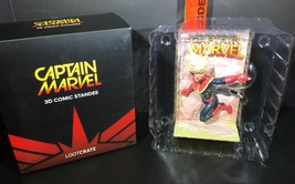 Captain Marvel 3D Comic Standee Loot Crate Exclusive March 2019 Brie Larson - $7.43