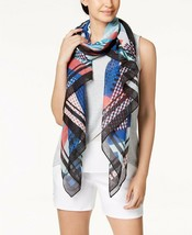 Calvin Klein Abstract Painterly Chiffon Scarf & Cover Up - $44 - NWT - $10.77