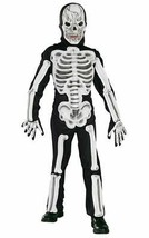 Eva Skeleton Costume, Fancy Dress, Large, US Size, Childrens - $19.24