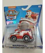 Nickelodeon Paw Patrol True Metal Marshall EMT Fire Truck (bs) - $24.75