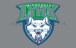 Minnesota Lynx WNBA 3'x5' gray Flag Lindsay Whalen Maya Moore - USA seller - $25.00