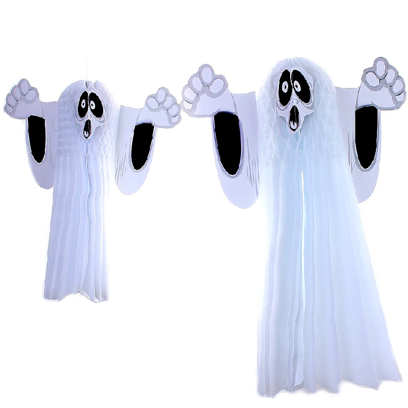 Halloween Hanging Ghost Wall Ornaments Horror Props Party Decorations