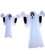 Halloween Hanging Ghost Wall Ornaments Horror Props Party Decorations - $187,01 MXN+