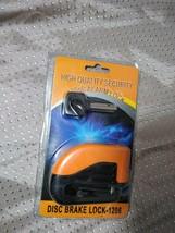 High Quality Security 100dB Alarm Lock Disc Brake Lock 1206 - $7.91