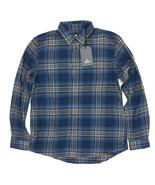 New Levi's Made & Crafted Long Sleeve Flannel Button Down Shirt Size Lar... - $49.95