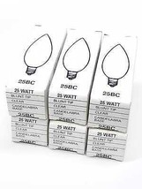 General Electric 25BC Lamp Light Bulb Lot of 6 - $28.49