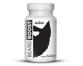 Beard Growth Vitamins for Men | Beard Boost Vitamins For Faster Hair Growth - $25.05