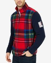 Nautica Men's Blue Water Challenge Plaid Nautex Sweatshirt, Size S, MSRP... - $37.30
