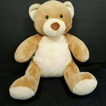 """Build a Bear Velvet Hugs Brown Plush Teddy Asthma Allergy Friendly 15"""" N... - $23.75"""
