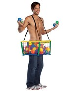 Ball Pit Costume Adult Cage Tunic Suspenders Halloween Party Unique GC6963 - $72.99