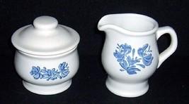 Unused Pfaltzgraff YORKTOWNE Stoneware Covered Sugar & CREAMER USA - $15.00