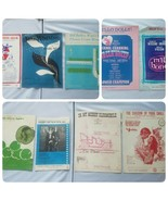 Vintage 1960s Sheet Music Lot of 9 Songs Assorted Collectible - $27.61