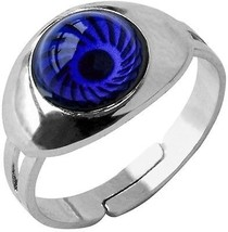 Inspiration Mood Ring Eye Color Changing Adjust Size Decorations Finger ... - $21.03