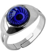 Inspiration Mood Ring Eye Color Changing Adjust Size Decorations Finger Ring - $21.03