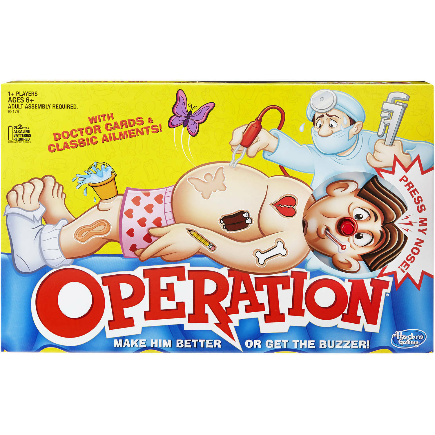 Primary image for Hasbro Operation Interactive Game  B2176