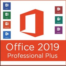 Microsoft Office 2019 Professional Plus  64 bit  download with Single us... - $12.99