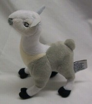 "Lessonly WHITE AND GRAY LLAMA 5"" Plush STUFFED ANIMAL Toy - $16.34"