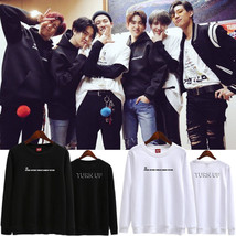 KPOP GOT7 Sweater TURN UP Concert Pullover Casual Tops Letter Unisex Hae... - $12.19+